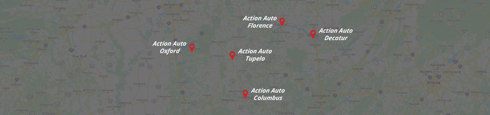 Action Auto map